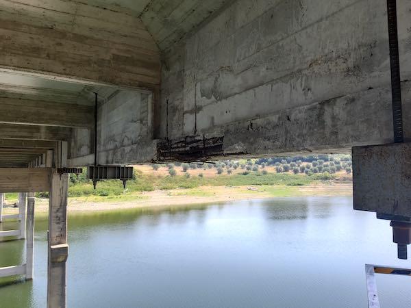 Ponte sul Lago di Corbara, proseguono i lavori per la riapertura ai mezzi pesanti