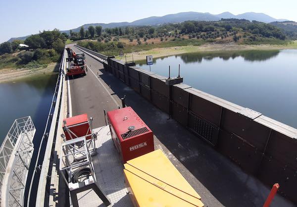 Statale 448, chiusure per lavori al Ponte sul Lago di Corbara