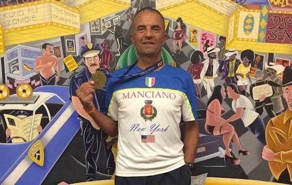 """Umberto Ponticelli alla Maratona di New York. """"La folla urlava vai Manciano"""""""