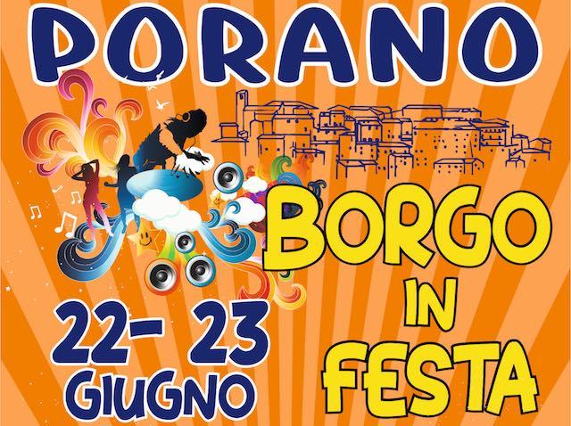 """Musica e divertimento protagonisti dell'edizione 2018 di """"Borgo in Festa"""""""
