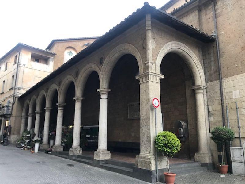Collaborazione tra Comune e Lions per il restauro del Portico di Sant'Andrea
