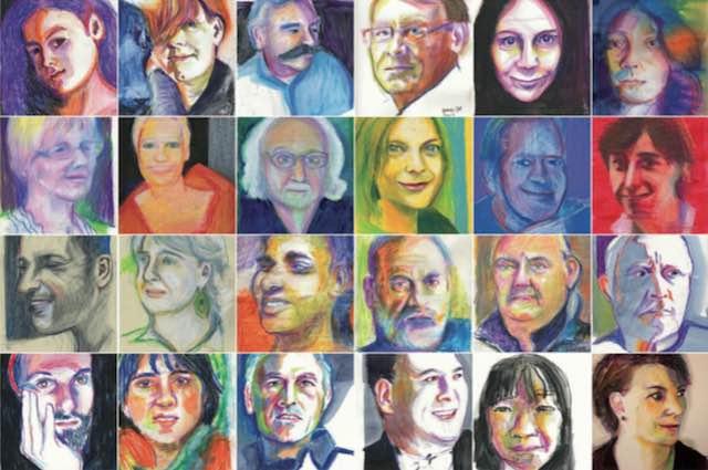 """""""Portrait Party"""", corso di pittura e disegno per adulti al Centro Viva"""