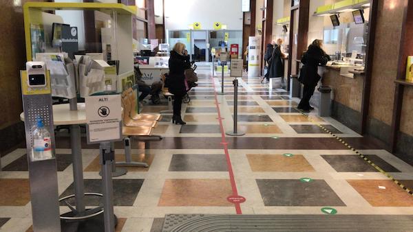 Poste Italiane, in pagamento dal 23 febbraio nel rispetto delle norme anti Covid le pensioni di marzo