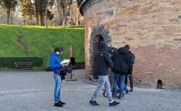 """Qatar Tv accende i riflettori su Orvieto. """"The Journey"""" nel Pozzo di San Patrizio"""