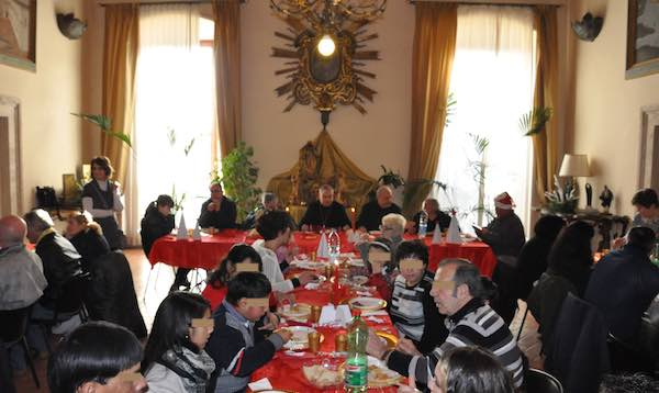 Celebrazioni in preparazione al Natale e Pranzo in Episcopio