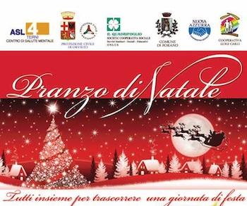 A Porano Pranzo di Natale organizzato dal Centro di Salute Mentale della ASL 4 di Orvieto