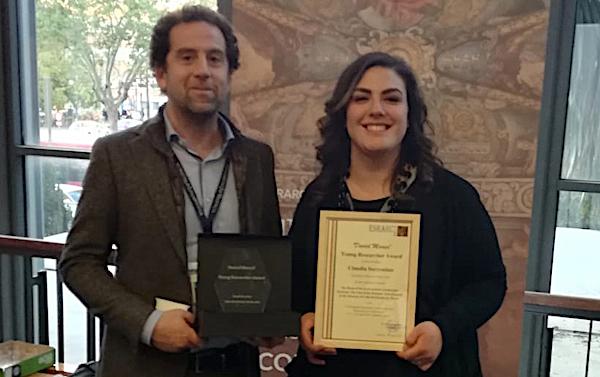 Premio internazionale a una giovane laureata dell'Università della Tuscia