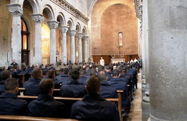 Precetto militare interforze nella Chiesa Cattedrale di San Lorenzo