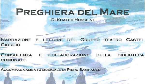 Recital di poesia e presentazione dell'ultimo toccante lavoro di Khaled Hosseini