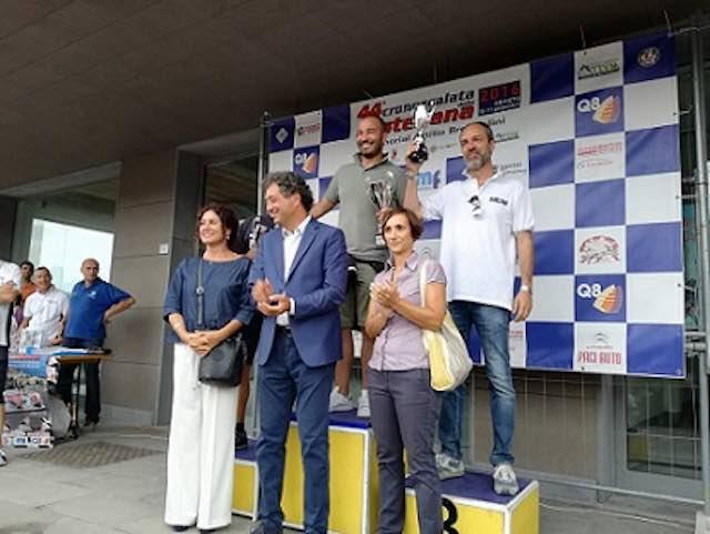 Castellana 2016, sul podio c'è anche il segretario della Consap Stefano Spagnoli