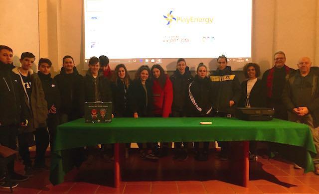 """""""Play Energy Enel"""", premiati gli studenti della scuola media"""