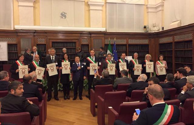 """""""100 Mete d'Italia"""", riconoscimenti a Monteleone d'Orvieto e Civita di Bagnoregio"""