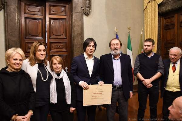 """Premio laurea """"Peccati-Crispolti"""" all'umbro Francesco Bastianini"""