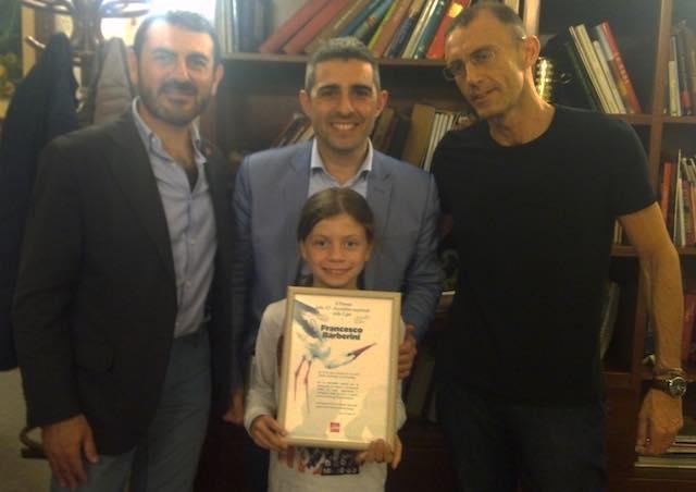 Riconoscimento nazionale per Francesco Barberini. La LIPU premia l'aspirante ornitologo