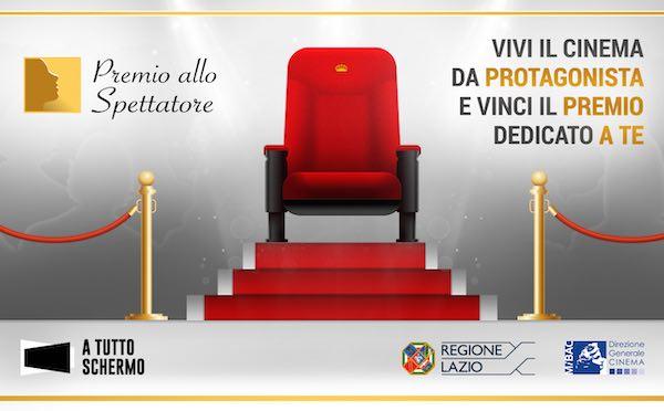"""Cinema italiano in tour nel Lazio, """"A tutto schermo"""" assegna il Premio allo Spettatore"""
