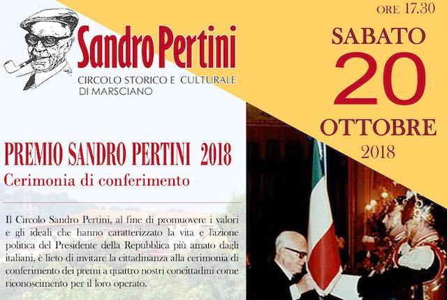 In Comune, la prima edizione del Premio Sandro Pertini