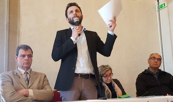 """Matteo Burico: """"Castiglione baricentro tra Umbria e Toscana"""""""
