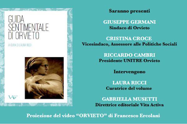 """L'Unitre presenta la """"Guida Sentimentale di Orvieto"""" realizzata dal Laboratorio di Scrittura Creativa"""