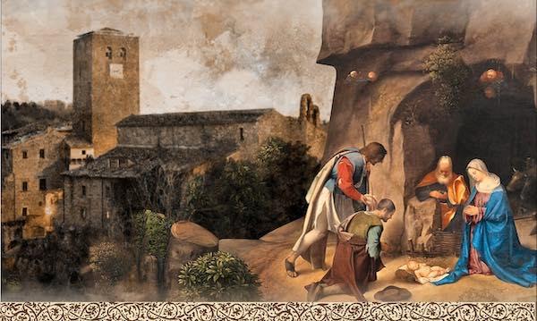 A Bassano in Teverina la guida per il Presepe Vivente è San Francesco