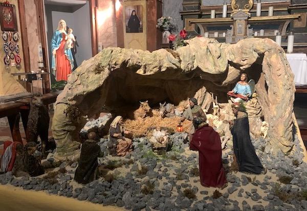 Prolungata fino alla Candelora l'apertura del Presepio della Chiesa della Madonna della Cava