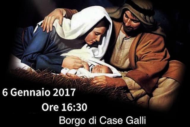 Fascino e solidarietà nel Presepe Vivente del Borgo Case Galli