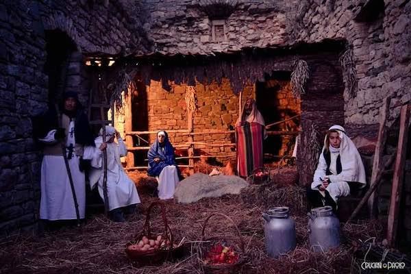 Nel borgo di Morruzze rivive il fascino del Presepe Vivente
