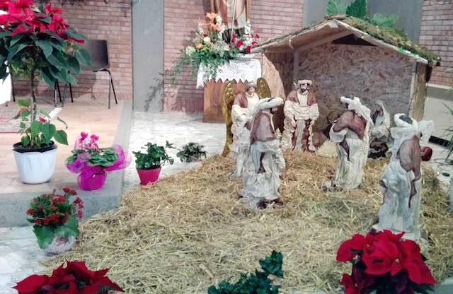Presepe diffuso per portare il simbolo del Natale in tutte le vie di Viceno