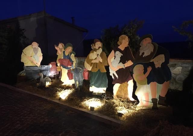 """""""Presepe in Piazza"""" a Trevinano, meta della Carta del Presepista Pellegrino"""