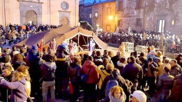Presepe Vivente a Civita, oltre 6.000 visitatori alla prima rappresentazione