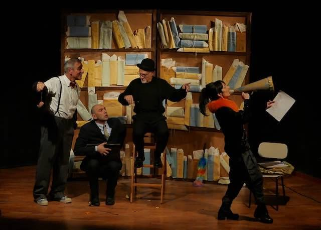 "All'Auditorium Comunale va in scena ""Il Presidente, una tragica farsa"""