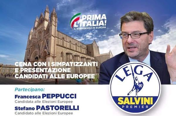Doppia tappa umbra per il sottosegretario Giancarlo Giorgetti