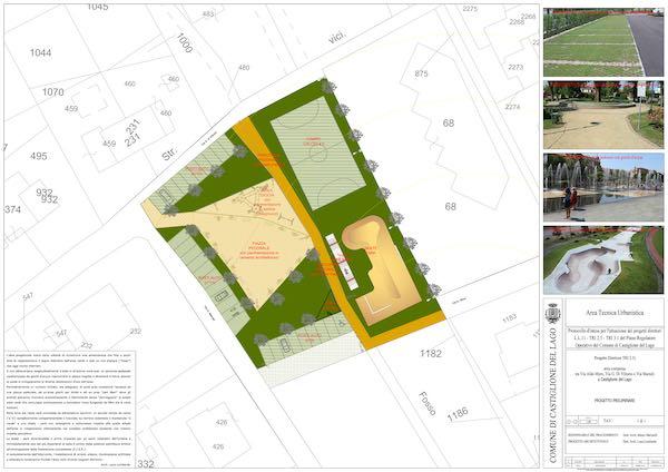 Presentata la riqualificazione dell'area verde di Via Mameli