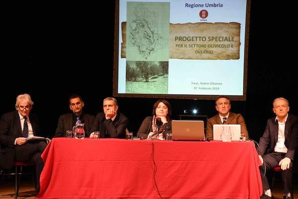 """Un progetto speciale per il settore olivicolo-oleario. """"Documento strategico per l'identità umbra"""""""