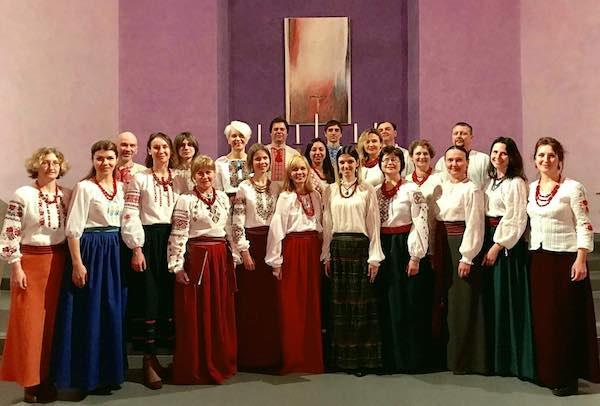 "The Choir ""Prostir"" dall'Ucraina a Ficulle, doppio concerto"