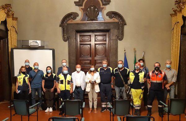 La Consulta di Protezione Civile incontra la presidente Donatella Tesei