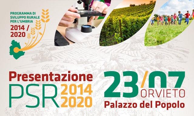 Psr Umbria 2014-2020: oltre 48milioni di euro per sviluppo locale
