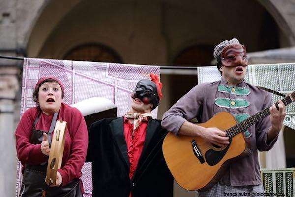 Con Pulcinella Gobbo del Quarticciolo, Circomare porta in scena la Resistenza
