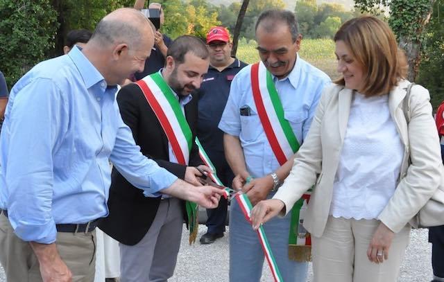 """Piano urbanistico comunale, inaugurato il nuovo """"Ponte della Barca"""""""