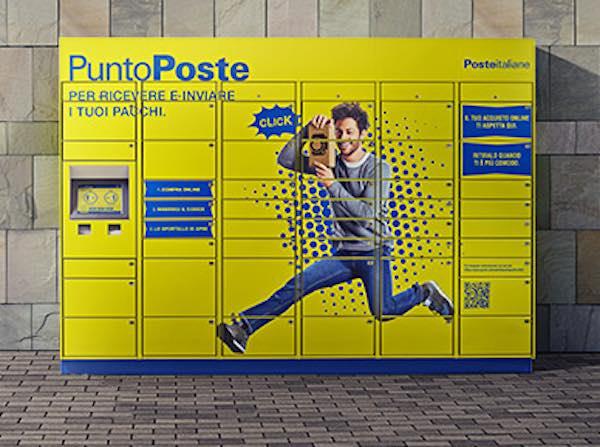 """Poste Italiane, sette nuovi """"Punto Poste"""" per la rete e-commerce"""
