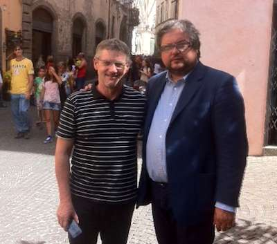 Il viceministro polacco dell'Economia in visita al palazzo del Gusto di Orvieto