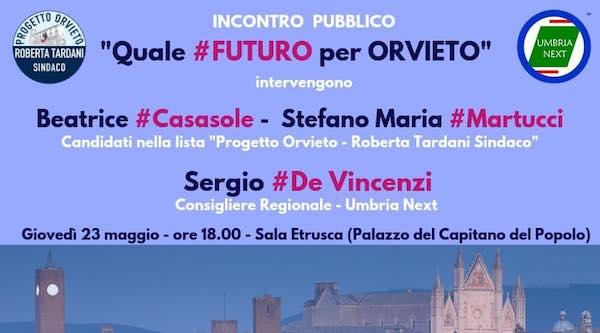 """""""Quale futuro per Orvieto"""". Incontro al Palazzo del Capitano del Popolo"""