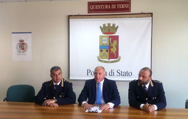 Dopo quattro anni, Carmine Belfiore lascia Terni. Sarà il nuovo questore di Latina