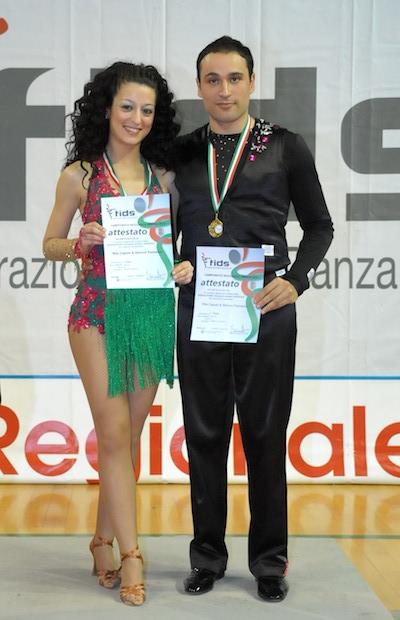 Rita Caputo e Stefano Palmerini si aggiudicano il primo posto del campionato regionale Fids
