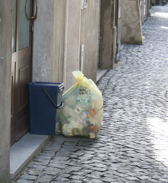 Raccolta differenziata giorno #1. The day after. Orvieto città educata, sensibile e collaborativa