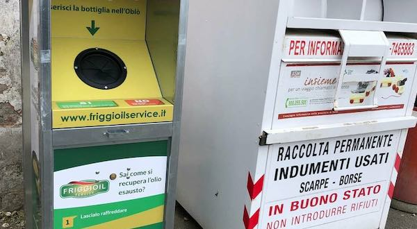 Anche Monteleone d'Orvieto avrà due postazioni per lo smaltimento dell'olio vegetale esausto