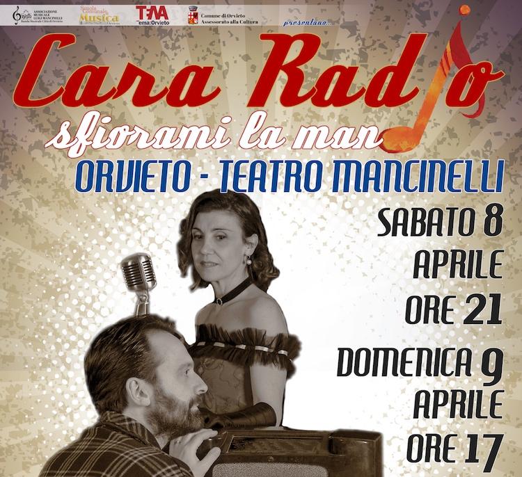 """""""Cara Radio...sfiorami la mano"""". Al Mancinelli la coproduzione di Filarmonica, Scuola di Musica e TeMa"""