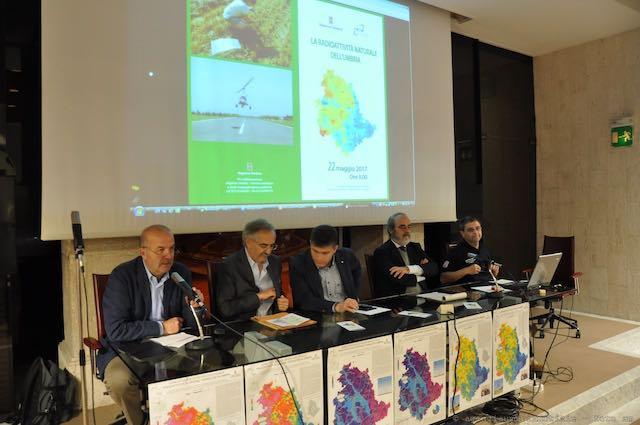 La radioattività naturale dell'Umbria: presentato lo studio della Regione e dell'Istituto nazionale di fisica nucleare