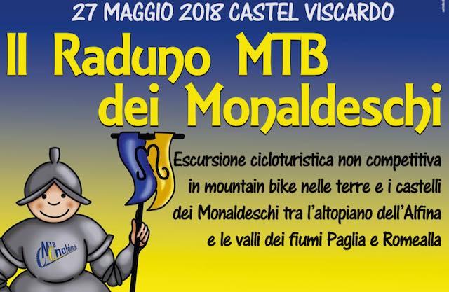 Claudio Vandelli testimonial del II° Raduno in MTB dei Monaldeschi