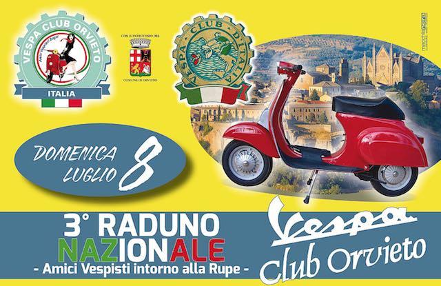 """Motori caldi per il 3° Raduno Nazionale """"Vespa Club Orvieto"""""""