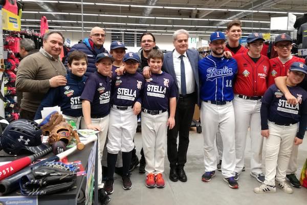 Rams Baseball Club da Decathlon per promuovere lo sport